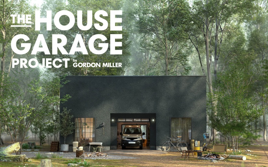 the house garage project flat type